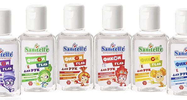 Новый антисептик для рук Фиксигель от Sanitelle — надежная защита детских ручек