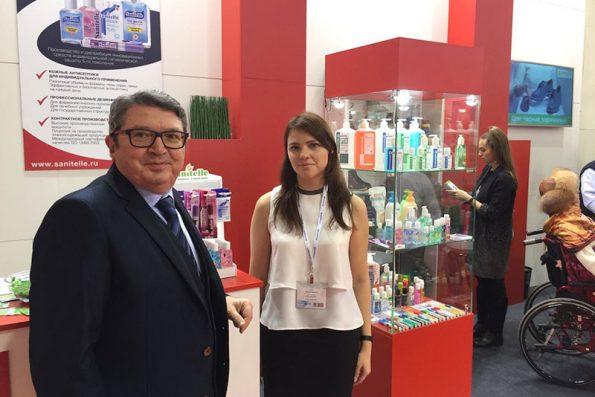Компания «Бентус лаборатории» приняла участие в международной выставке «Здравоохранение-2017»