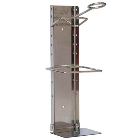 Настенный локтевой дозатор для флакона объемом 1 л