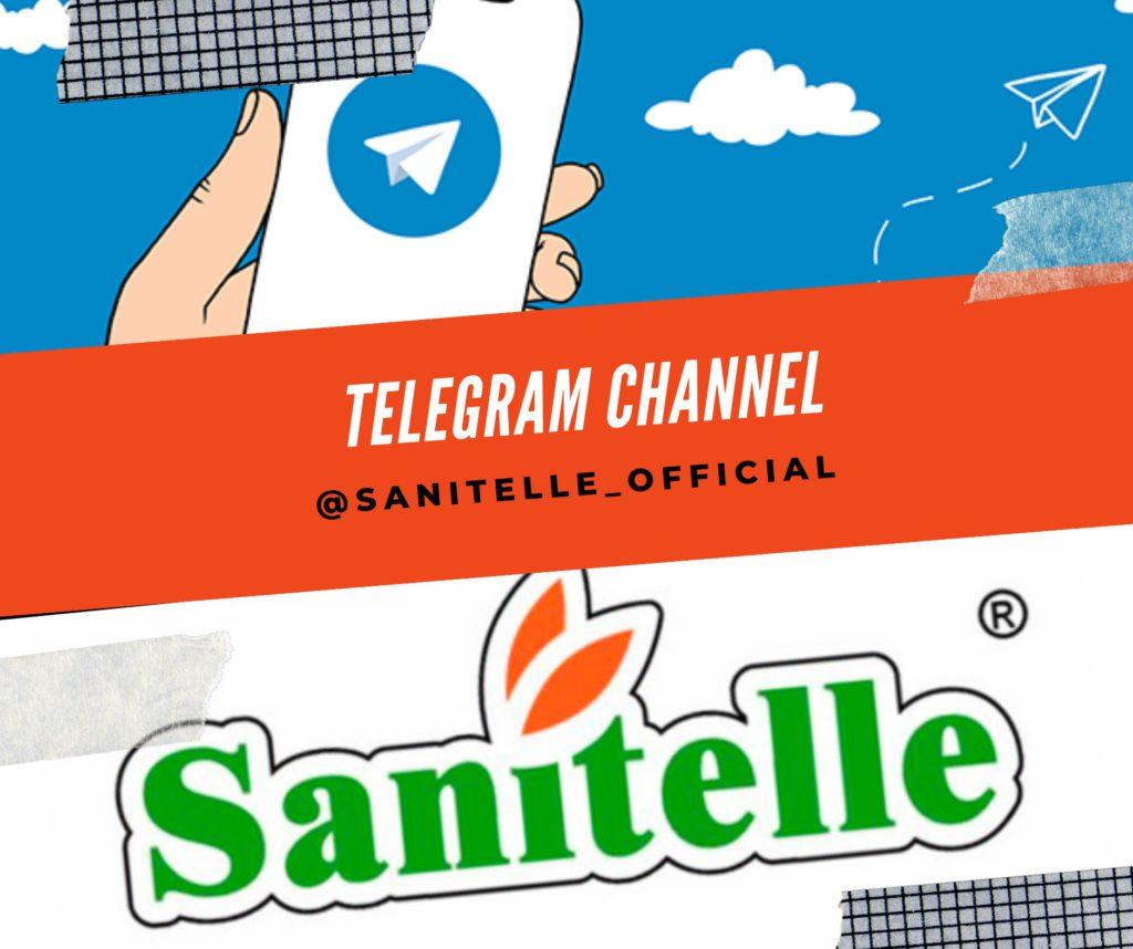 Официальный канал бренда Sanitelle® в Telegram