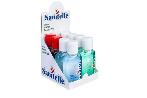 Компания «Бентус лаборатории» успешно поставила первую партию кожных антисептиков ТМ Sanitelle в Великобританию.