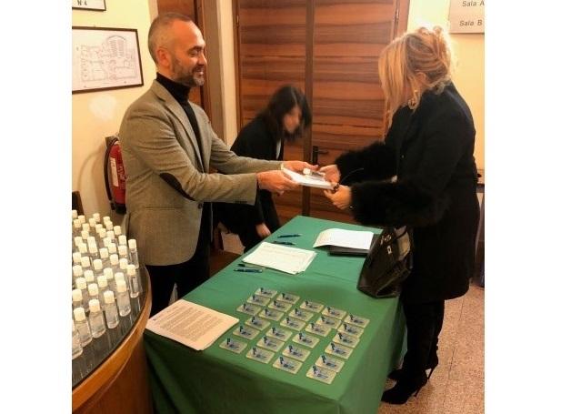 Официальная презентация выхода Sanitelle® на рынок Италии состоялась в Католическом университете LUMSA.