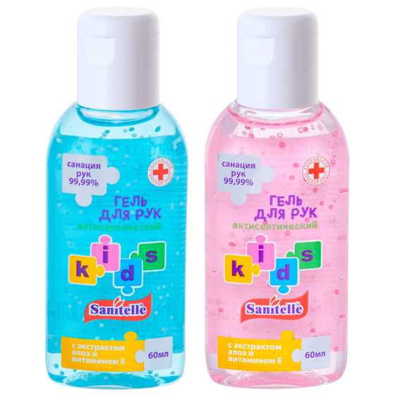 Гель для рук антисептический Sanitelle® Kids