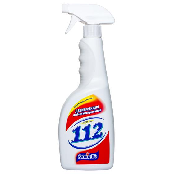 Средство для дезинфекции любых поверхностей ТМ Sanitelle 112