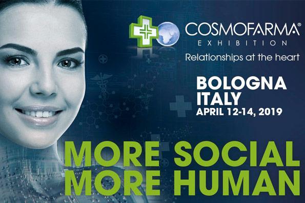 Компания «Бентус лаборатории» примет участие в международной выставке Cosmofarma 2019, которая состоится 12-14 апреля в Болонье, Италия